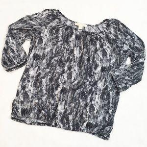 Michael Michael Kors Black & White Blouse